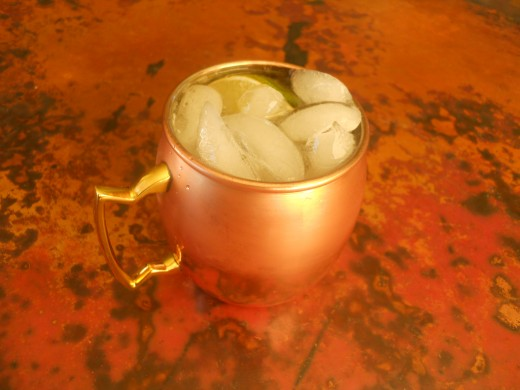 The Moscow Mule: a perfect summer party drink.