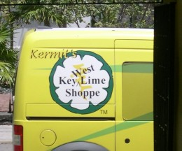 Kermit's Key West Key Lime Shoppe Van