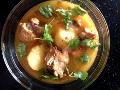 Chicken Curry with Sweet Potato :A Healthy Indian Chicken Dish