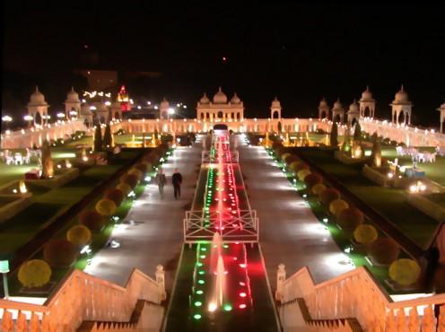 A view of Ramoji Filmcity