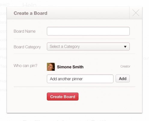 Creating a group board
