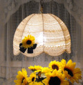 DIY- A Crochet Lampshade- A Recycle Project