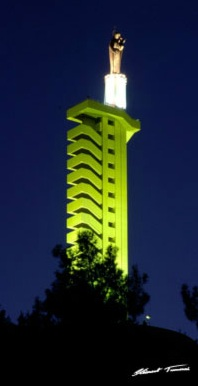 "Tallest church in Zahle ""Our lady of the Beqaa"""