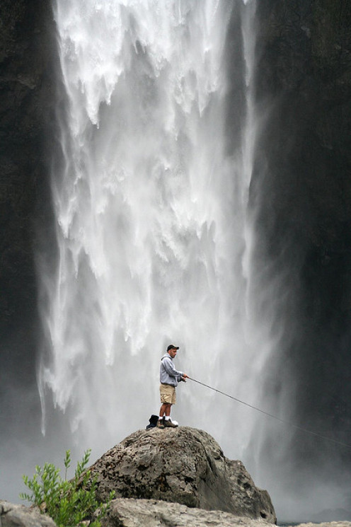 A true definiton of MAN AND NATURE at peace.