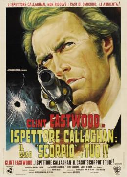 Dirty Harry 1971 Italian poster