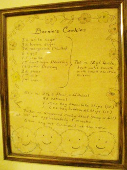Photo of Framed Original Recipe