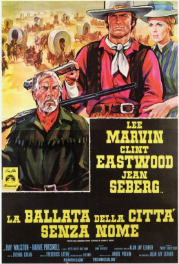 Paint Your Wagon 1969 Italian poster