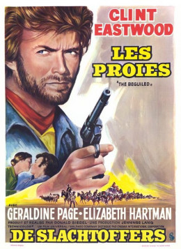 The Beguiled 1971 French poster
