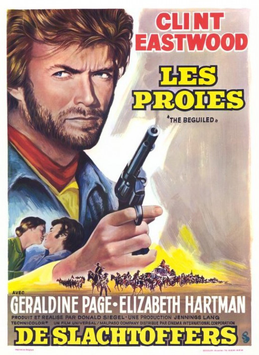 The Beguiled (1971) French poster