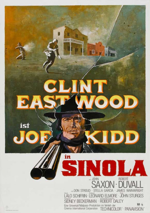 Joe Kidd (1972) German poster