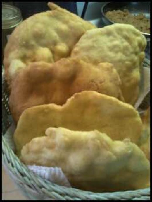 Yummy fry bread!