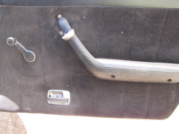 Passenger side door panel prior to removal.