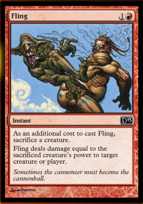 Fling your Reckless Brute at your opponent, after he's assigned to block