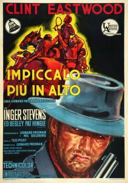 Hang Em High 1968 Italian poster