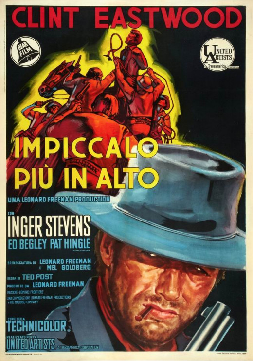 Hang Em High (1968) Italian poster