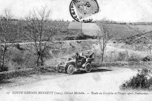 Gordon Bennett Cup in auto racing 1905 France