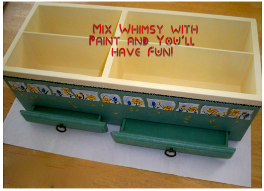 Paint Takes an Odd Cabinet from Sad to Happy!