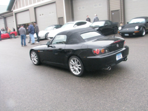 Honda S2000- the perfect blend of lightness, handling, and manual transmission fun!