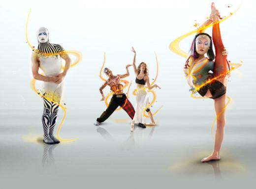 Cirque du Solei Posers