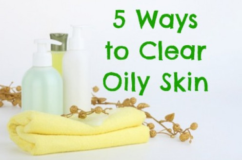 How to get rid of oily skin on your face