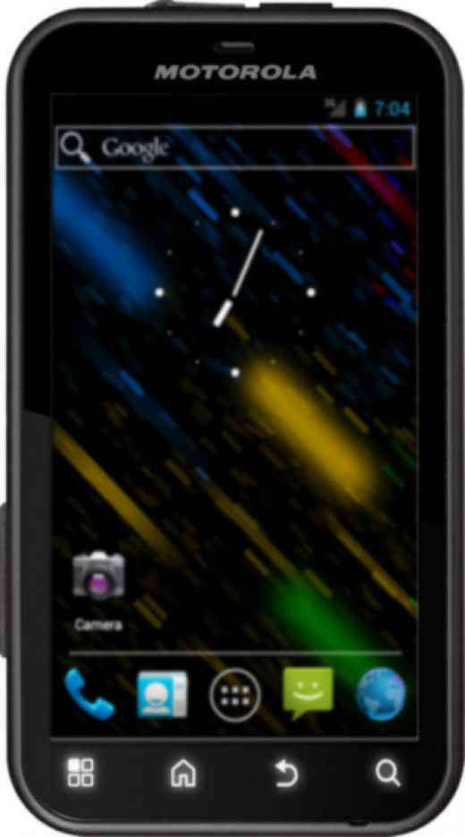 Motorola Defy with Android ICS