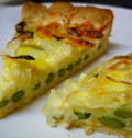 Easy Vegetarian Asparagus Quiche Recipe