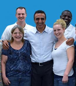 Hamdi is in the center