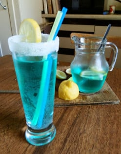 How to Make a Blue Lagoon Cocktail