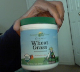 Shot I took of me holding this product using my computer webcam.