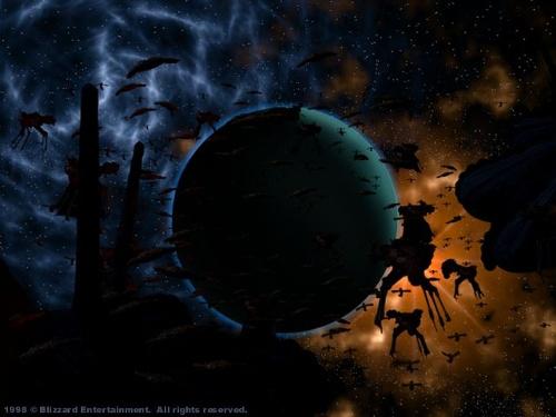 Aiur, Protoss home world
