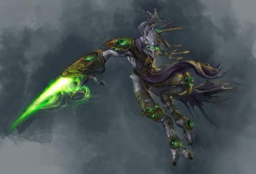 Zeratul, the Dark Templar