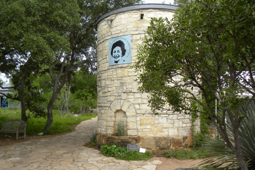 Lady Bird Johnson Wildflower Center Entrance - Austin TX