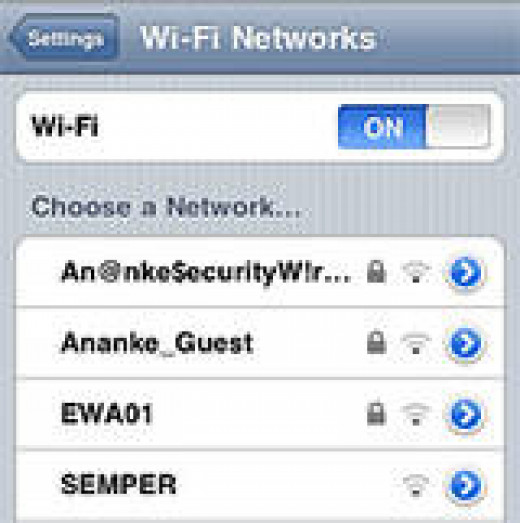 Make sure to choose the available network within a certain location. Starbuck, Mcdonalds, and other cafe's maintain a good Wi-Fi network.