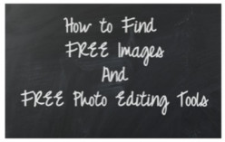 Free Online Photo Editing Using PicMonkey and Free Public Domain Images