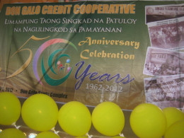 The DGCC Tarpaulin - All photos by Travel Man (aka Ireno Alcala) June 21, 2012