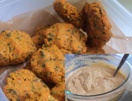 Raw Vegan Carrot Falafel