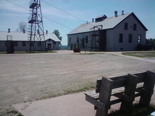 The mine exterior