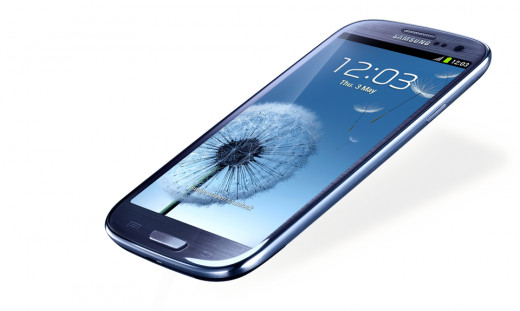 Samsung Galaxy S3 - possibly the best smart phone on the market right now.