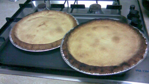 pies made with shortcrust pastry
