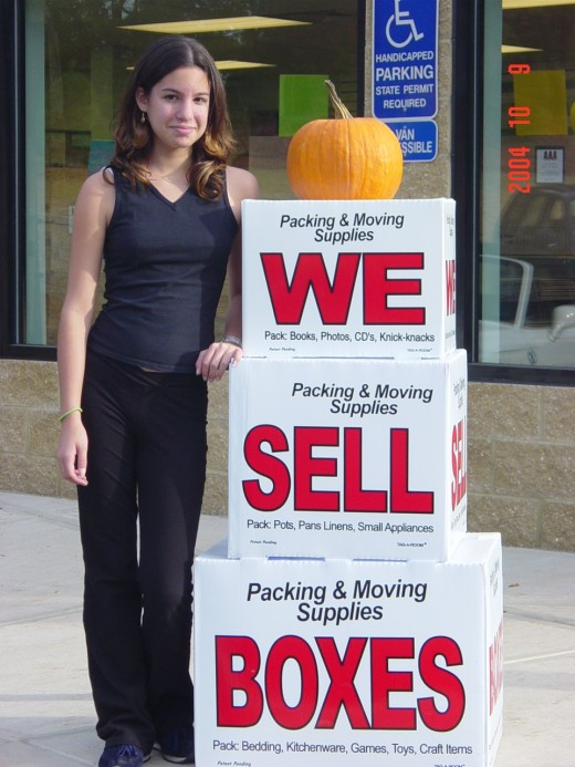 At 100% markup your product sales should net you $500 a month profit.   Notice the pumpkin?  Celebrate every holiday at your self storage for more fun & profits