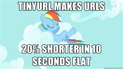Web application approach on Rainbow Dash's 20% cooler in 10 seconds flat meme