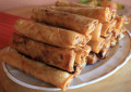 Family Meal Ideas: Pedia´s Crunchy Spring Rolls