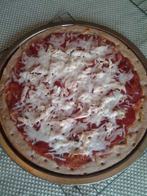 Cooked Pizza