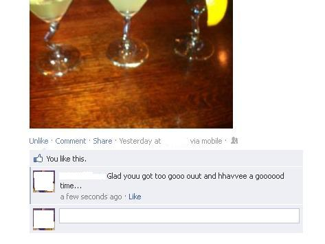 Navigate to the Facebook comment you want to edit.