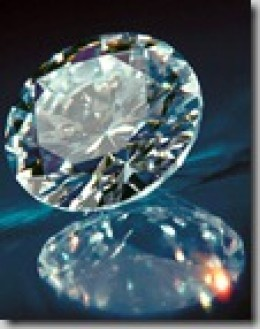 Synthetic or lab diamond made from human remains