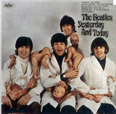 The Beatles censored cover in 1965
