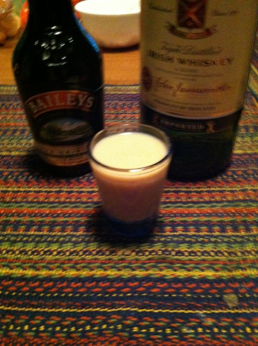 Bailey's and Jameson shooter.