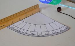 Measure the quadrant's side