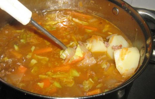Minced Stew Recipe