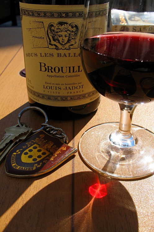 Beaujolais from Brouilly